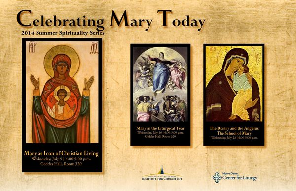 Celebrating Mary Today