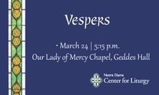Vespers March 24